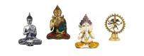 Spiritual statues - Buddha - Ganesha - Shiva