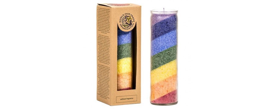 Fair Trade stearin candles