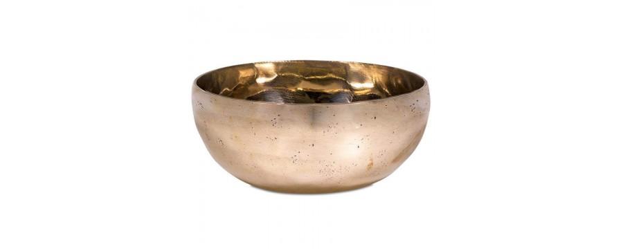 Singing Bowls Shanti gold-colored