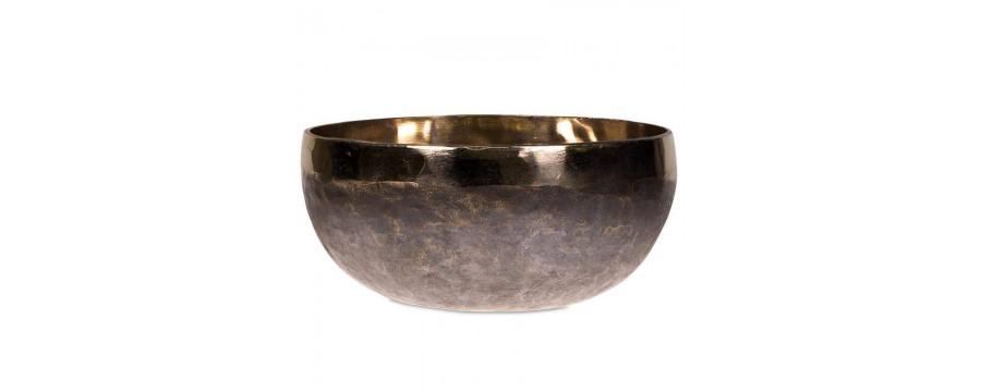 Singing Bowls Ishana black/gold