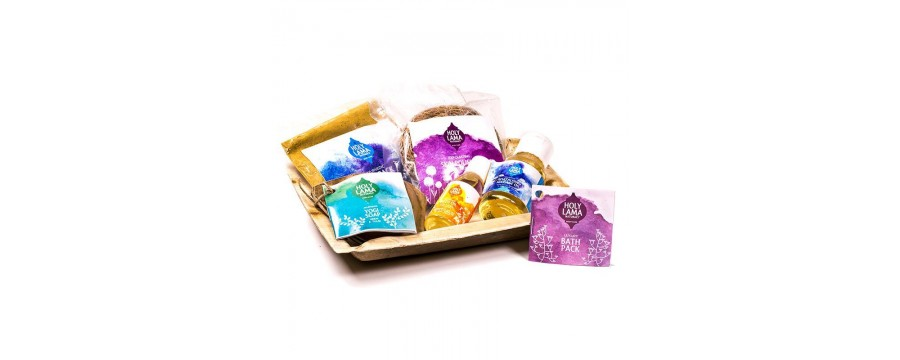 Natural Bath - Shower - Soaps Products.