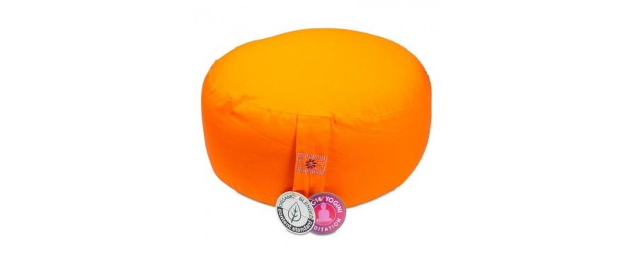 Meditation cushions round Organic cotton