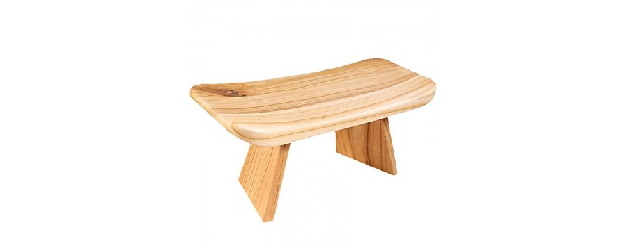 Meditation benches - for good posture