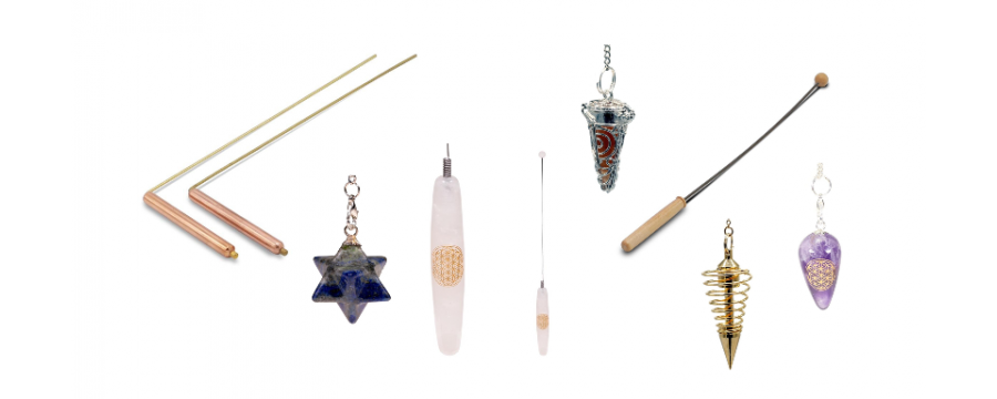 Pendulums and dowsing rods