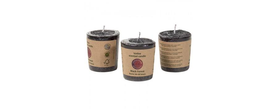 Fair Trade votive candles