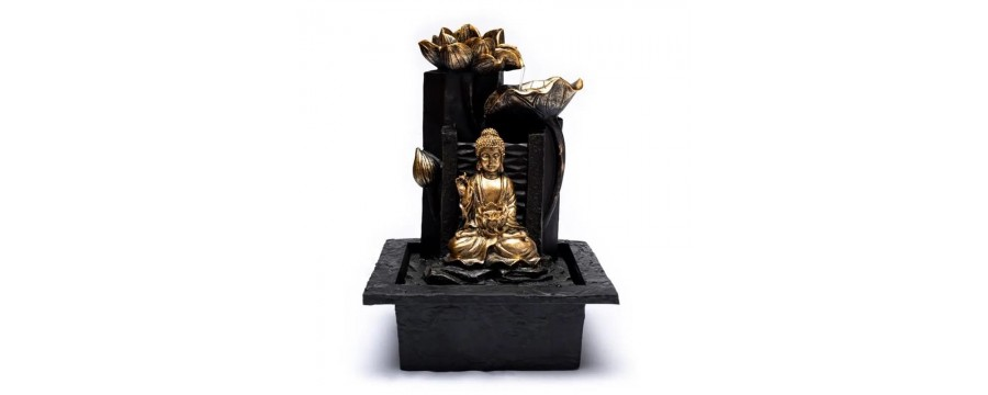 Indoor fountains for a good Feng Shui