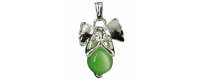 Gemstones Angel Pendants