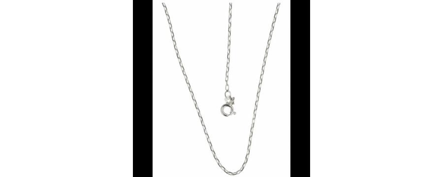 Gemstone necklaces silver