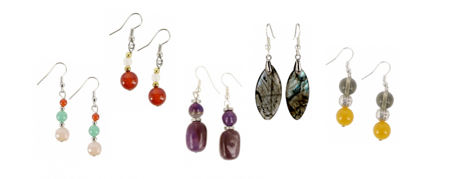 Earrings - Gemstones and Minerals