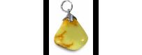 Gemstone pendants C - J