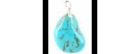 Gemstone pendants R - Z