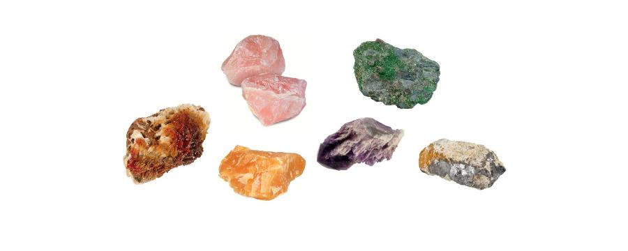 Minerals rough - Gemstones and Minerals