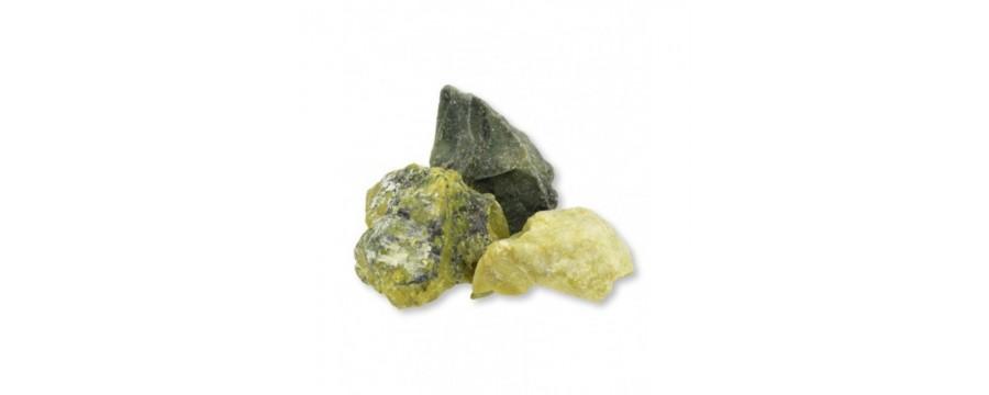 Raw gemstones and minerals R-Z