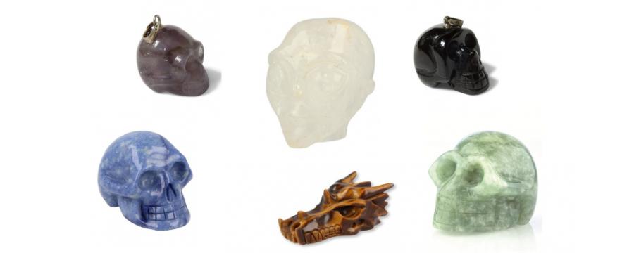 Crystal Skulls - Gemstones and Minerals